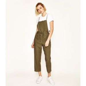 GREEN OVERALLS